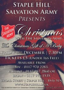 Christmas with The Salvation Army @ Bristol | England | United Kingdom