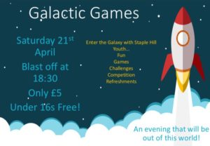Galactic Games Night @ The Salvation Army Staple Hill | England | United Kingdom