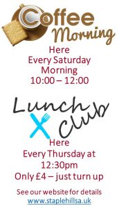 Lunch Club @ The Salvation Army Staple Hill | England | United Kingdom